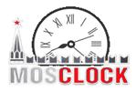 Логотип MosClock (магазин часов в ТЦ «Голубой Дунай») - Справочник Мытищ