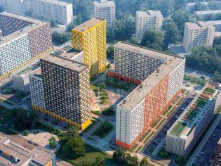 проект жилого комплекса «Ярославский» в Мытищах - Мытищи