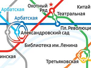 Схема Московского метро - Мытищи